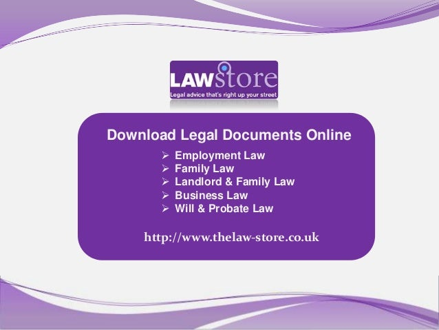 Download Legal Documents Online         Employment Law         Family Law         Landlord & Family Law         Busine...