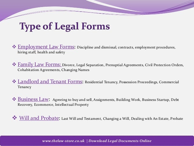 LawStore | Download UK Legal Form Templates Online