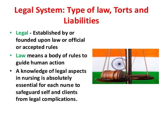 tyoes of law