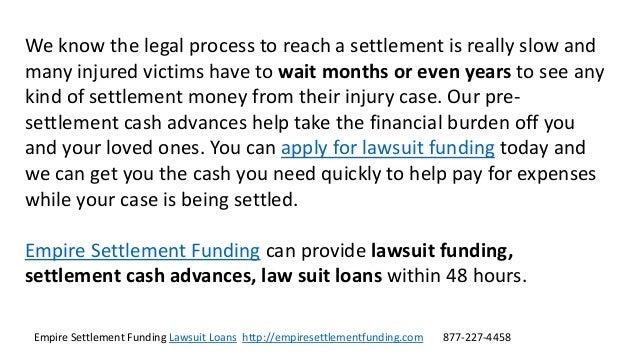 Lawsuit Loans Slide 3
