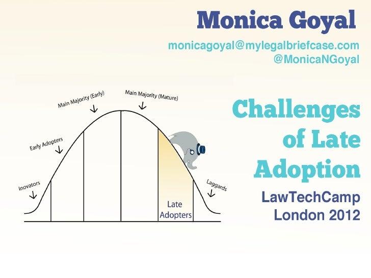 LawTechCampLondon 2012 Presentation by Monica Goyal
