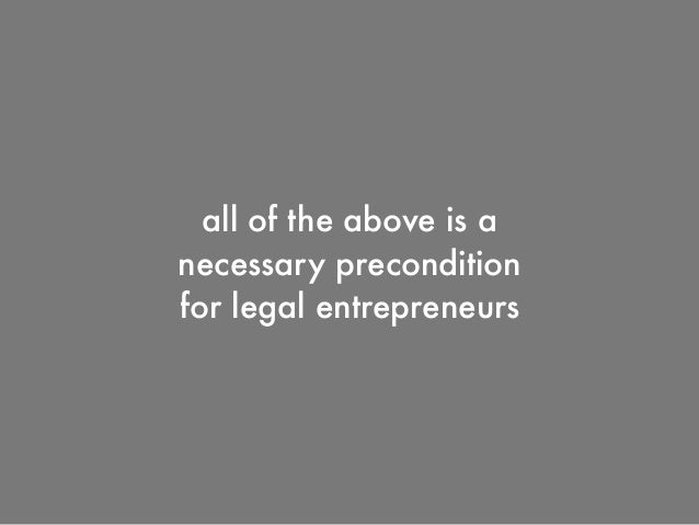 R + D Function in the Legal Industry
