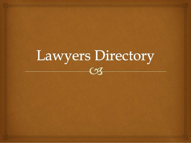  Consult the experienced attorneys from Lawyers directory For the client, it is a difficult task to find an expert attorn...