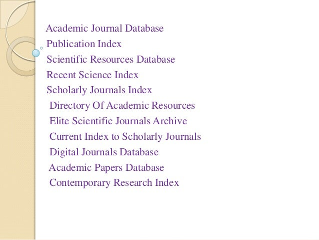 What is an Academic Paper?