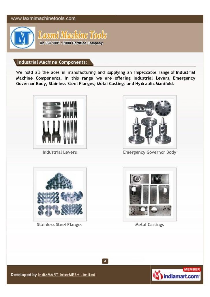 Laxmi Machine Tools, Ghaziabad, Industrial Machine Components Slide 3