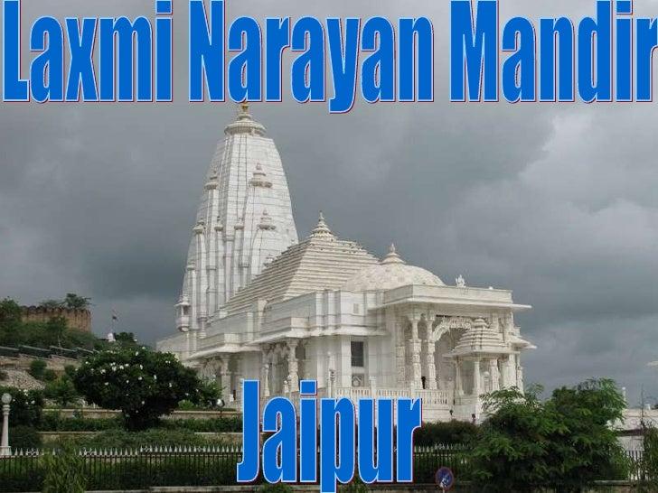 Laxmi Narayan Mandir Jaipur
