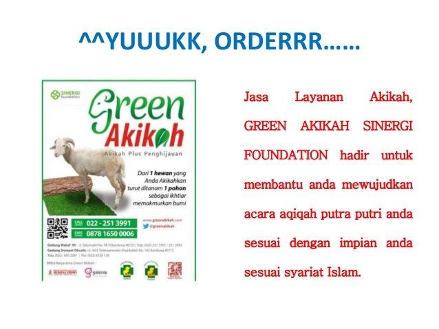 087816500006 (XL), Layanan Akikah Murah, Aqiqah Anak, Akikah SINERGI FOUNDATION Slide 2