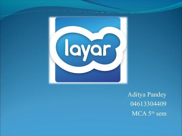 Aditya Pandey 04613304409 MCA 5th sem