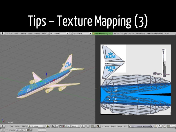 Tips – Texture Mapping (3)  •