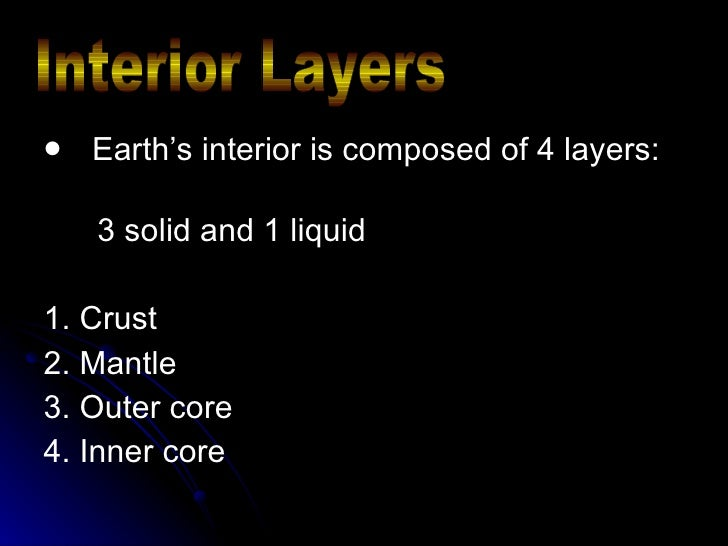 Lesson 1 Layers of the Earth PowerPoint
