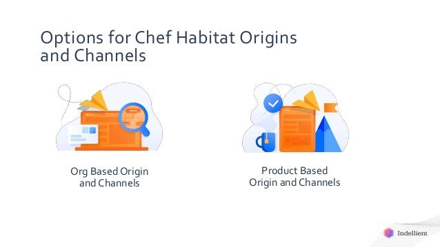 Options for Chef Habitat Origins and Channels Org Based Origin and Channels Product Based Origin and Channels