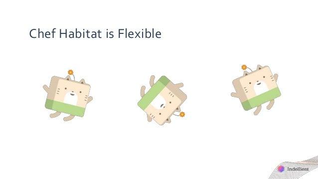 Chef Habitat is Flexible