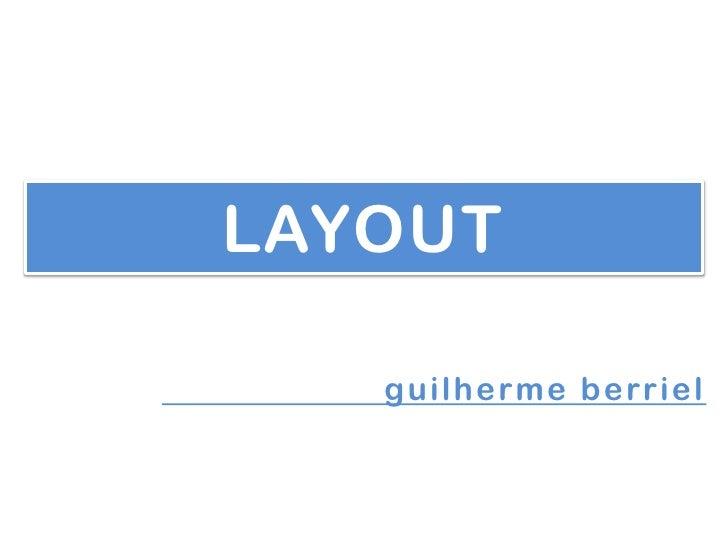 LAYOUT   guilherme berriel