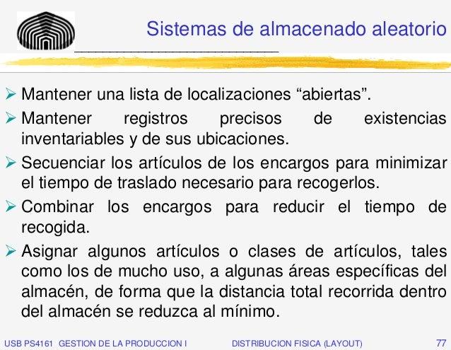 """Sistemas de almacenado aleatorio              _____________________________   Mantener una lista de localizaciones """"abiert..."""