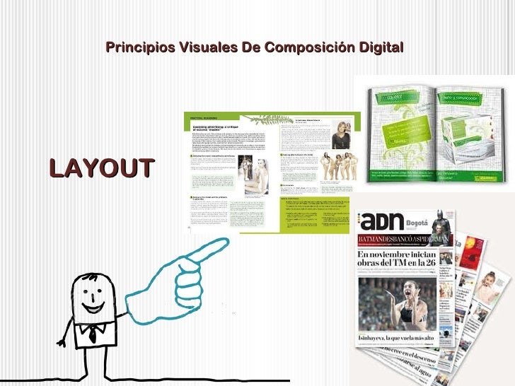 Principios Visuales De Composición Digital LAYOUT