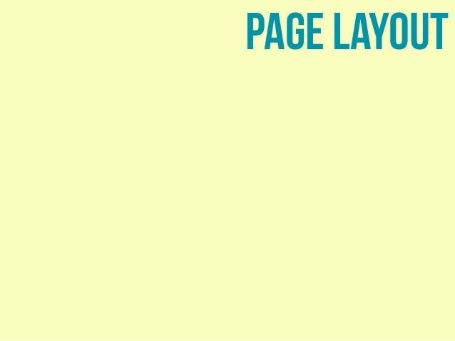 Layout with CSS Slide 3