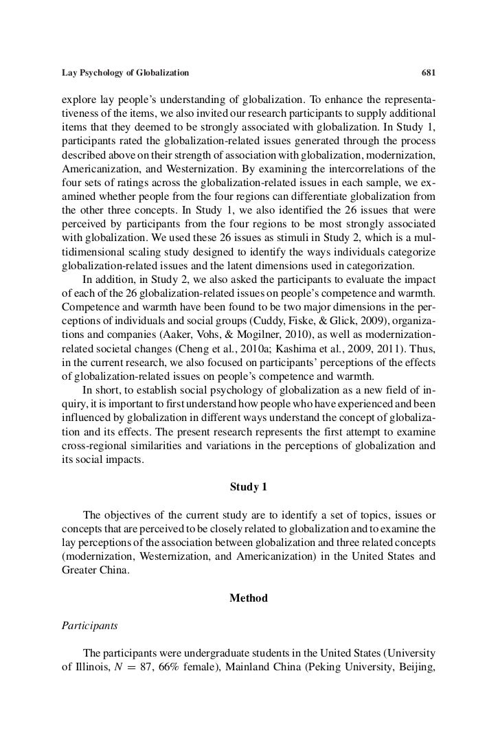 globalization and its social impact Abstract this paper will discuss the benefits and drawbacks from the point of view that globalization made  the impact of globalization on  social and natural.