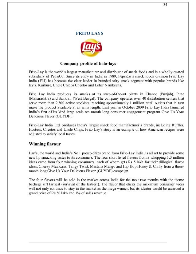 bingo vs lays Best answer: bingo's mktg strategy is quite innovative but it does not suit indian pallatelays is classy yet contemporaryit tastes good i opt for lays and a thumb down for.