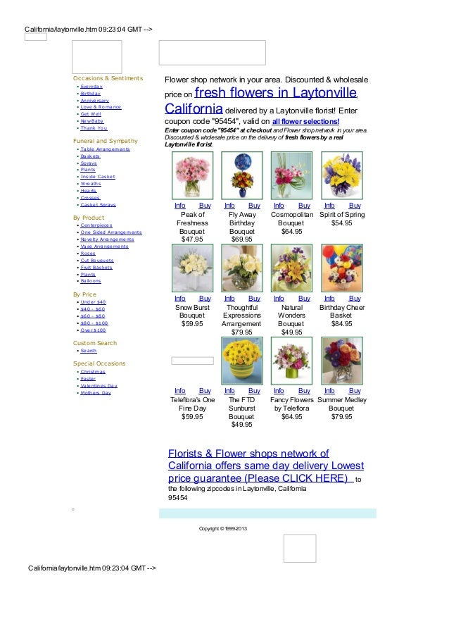 California/laytonville.htm 09:23:04 GMT -->                Occasions & Sentiments          Flower shop network in your are...