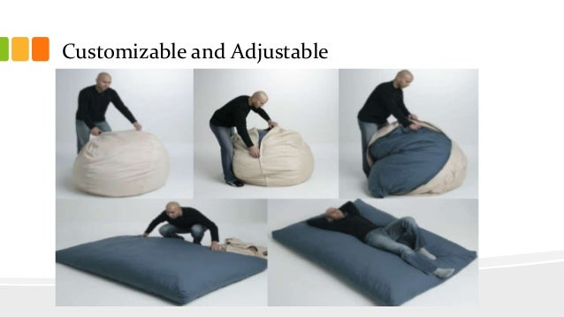 Customizable And Adjustable 11 Services O Bean Bag