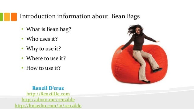 Analysis 3 Introduction Information About Bean Bags