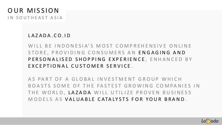 Lazada Indonesia Company Profile