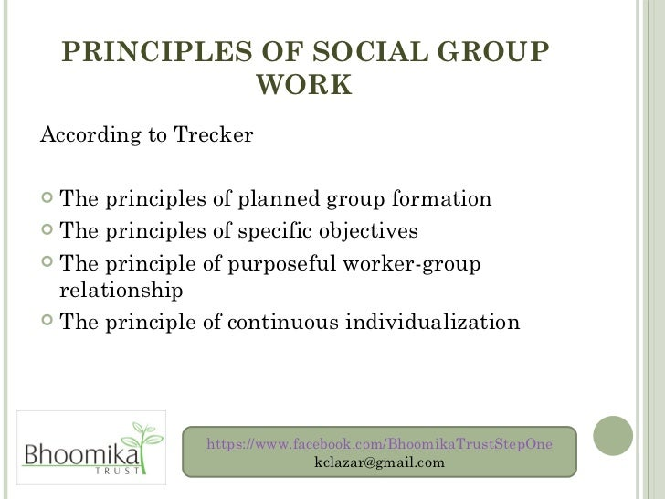 values of social group work pdf