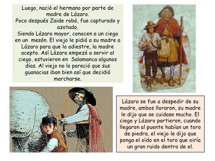 Lazarillo de Tormes - Resumen Slide 3