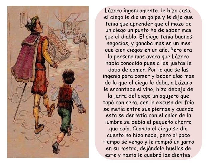 Lazarillo de Tormes - Resumen Slide 4