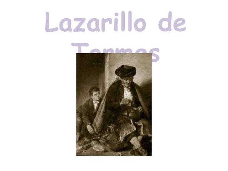 Lazarillo de tormes Slide 1