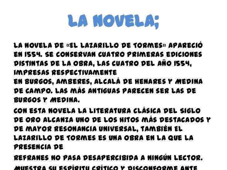Lazarillo de tormes Slide 5