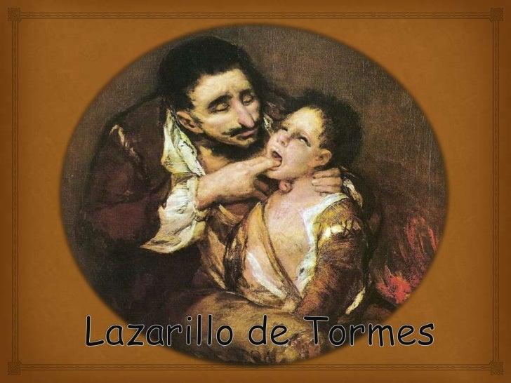 La época                      El Lazarillo de Tormes es una obra del siglo  XV(Renacimiento), conocido como el siglo de ...