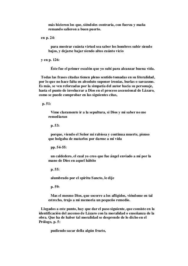 Lazarillo De Tormes Comentada