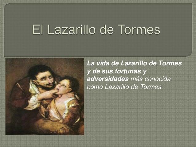 Lazarillo De Tormes Pablo Senosiain