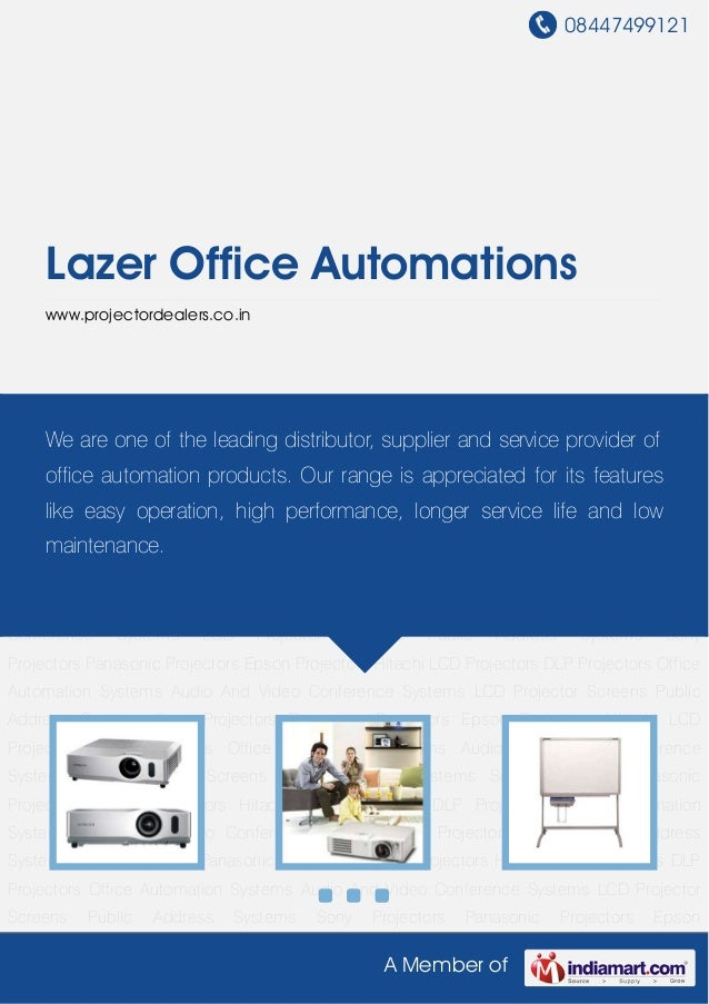 08447499121A Member ofLazer Office Automationswww.projectordealers.co.inHitachi LCD Projectors DLP Projectors Office Autom...