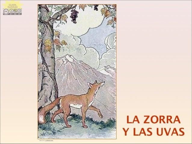 LA ZORRA Y LAS UVASIMAGEN: LAS9MUSAS CLARA ÁLVAREZ