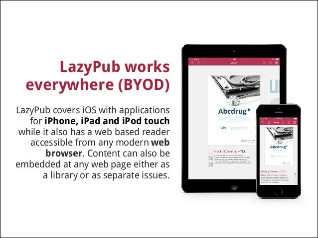LazyPub helps companies to cut printing budget !  Using LazyPub to distribute your company's publications can help cut dow...
