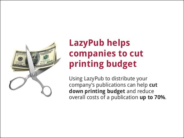 LazyPub gives you insight !  LazyPub analytics available in real time you know the number of downloads, profile of the use...