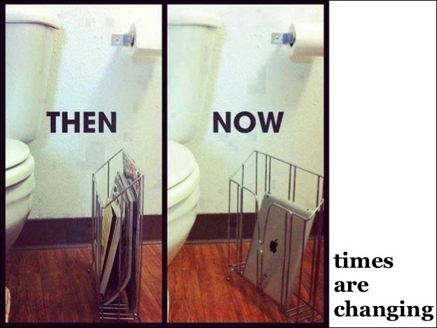 times are changing