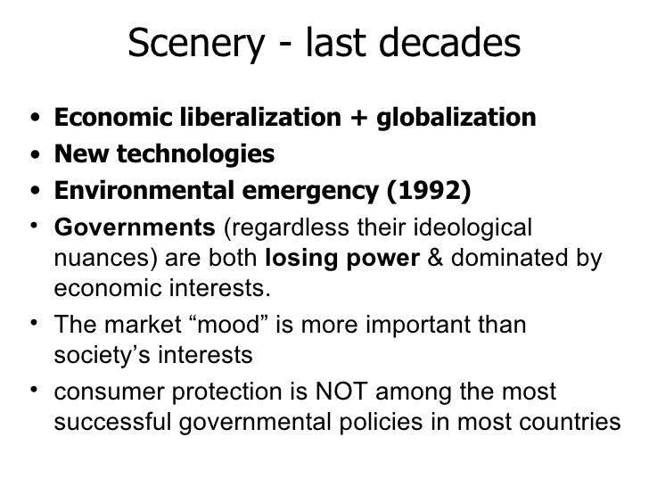 Scenery - last decades <ul><li>Economic liberalization + globalization </li></ul><ul><li>New technologies  </li></ul><ul><...
