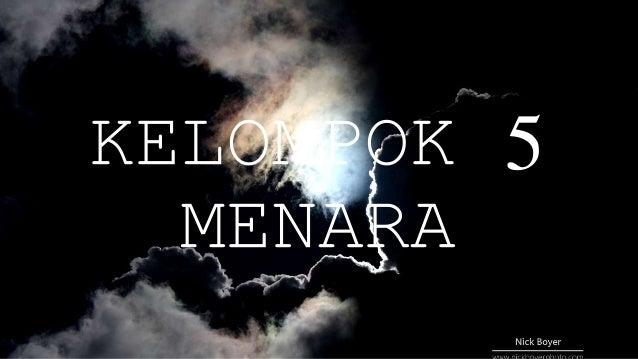 KELOMPOK 5 MENARA