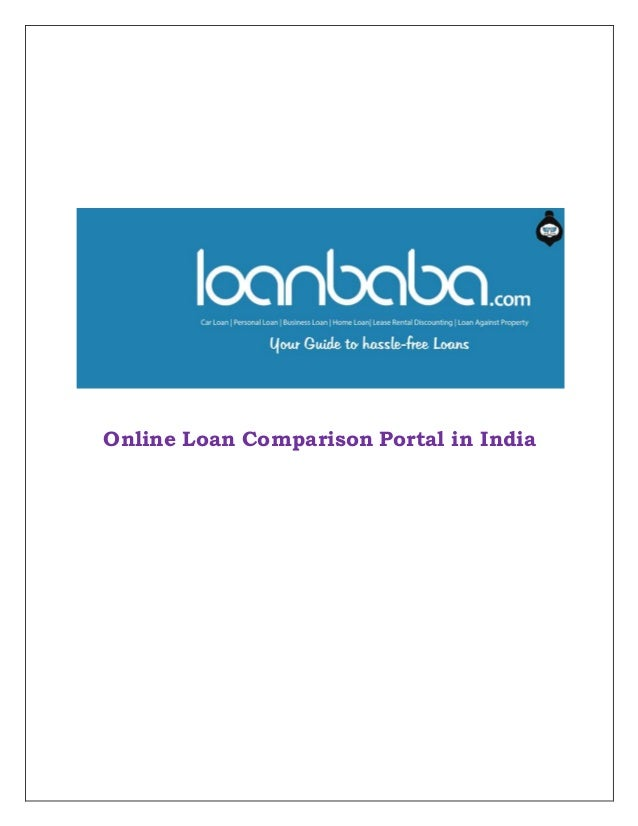 Different Aspects Of Online Loan Portal