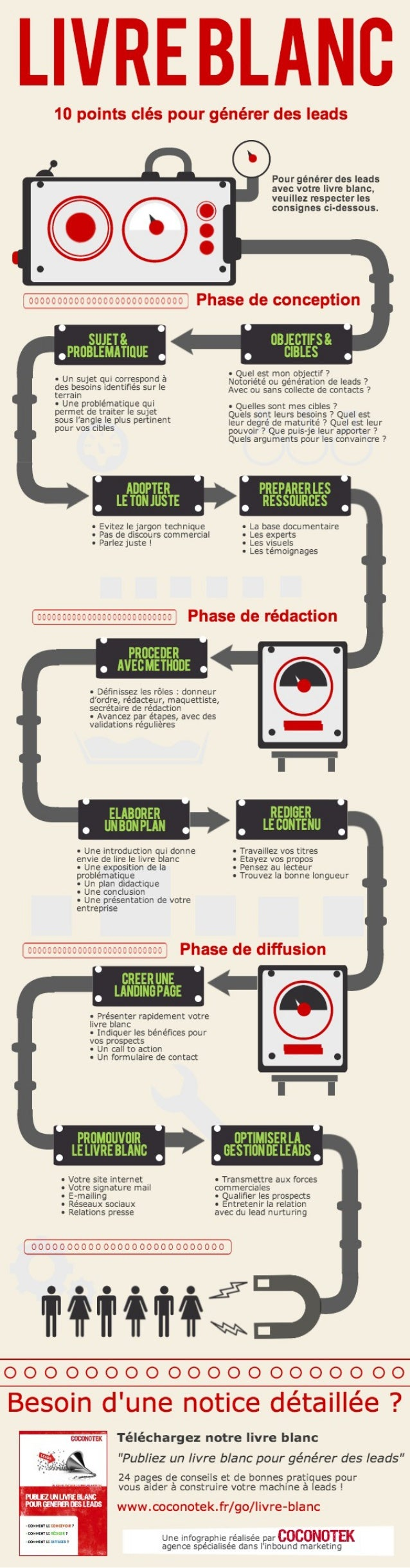 Infographie : un livre blanc pour générer des leads