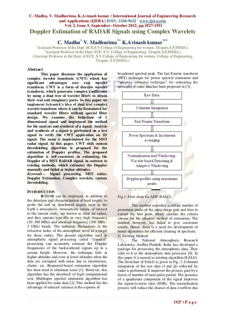 C. Madhu, V. Madhurima, K.Avinash kumar / International Journal of Engineering Research               and Applications (IJ...