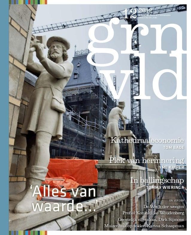 12      2012                              magazine over het verbinden                              van stad en land       ...