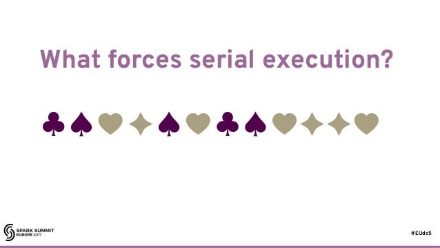 #EUds5 What forces serial execution? 15