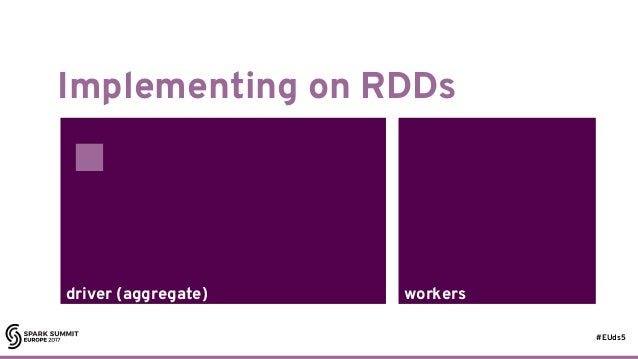 #EUds5 workersdriver (aggregate) Implementing on RDDs 38