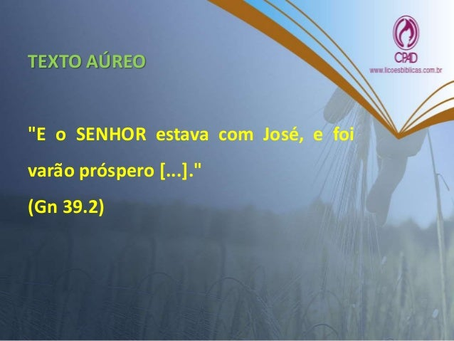 LEITURA BÍBLICA Gênesis 37.1-11