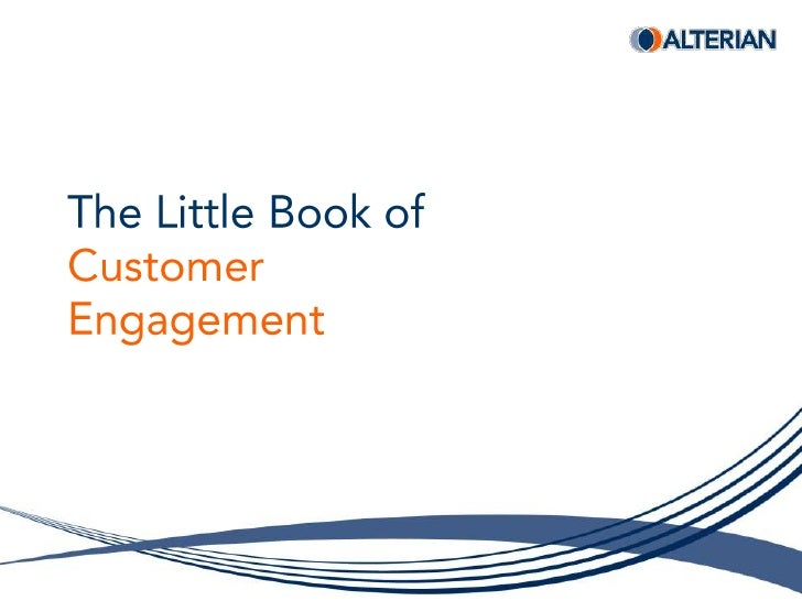 The Little Book ofCustomerEngagement<br />