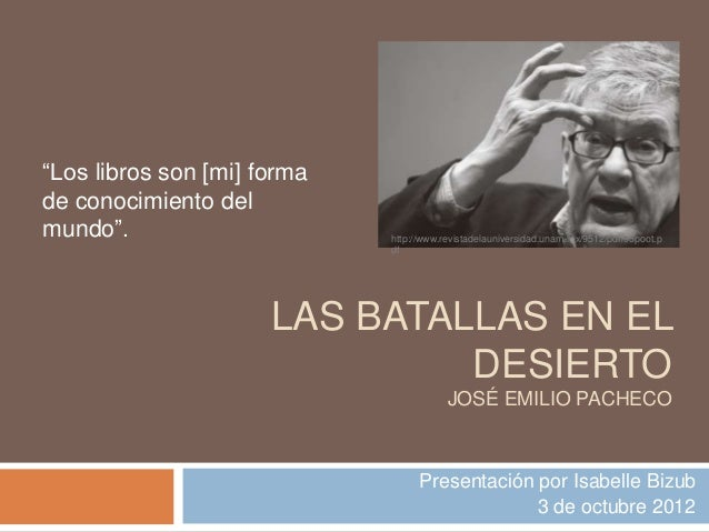 """""""Los libros son [mi] formade conocimiento delmundo"""".                      http://www.revistadelauniversidad.unam.mx/9512/p..."""